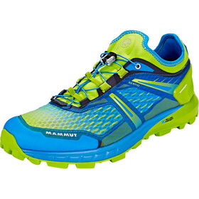 Mammut Sertig Low Running Shoes Men green/blue
